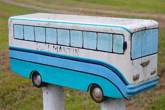 Little Blue Bus Box by Penny Smith