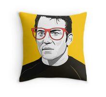 Star Trek James T. Kirk (William Shatner) Pop Art  illustration Throw Pillow