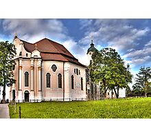 Pilgrimage Church of the Scourged Saviour - Steingaden Photographic Print