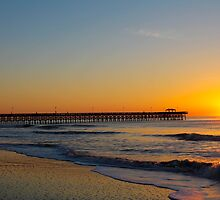 Sunday Morning Sunrise Myrtle Beach SC  by donaldhovis