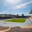 Olympic Stadium, Barcelona (Panorama) by Stephen Knowles