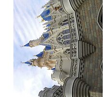 Cinderella's Castle Walt Disney World by sweetsisters