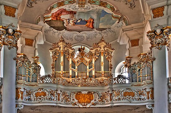 Pilgrimage Church of Wies - The Balcony by paolo1955