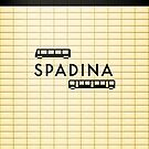 Spadina Station iPhone Case by emilyauban