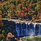Cumberland Falls Kentucky by Heather  Andrews Kosinski