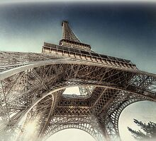 The Eiffel Tower - Paris by Robyn Carter