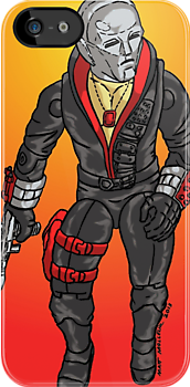 Destro from Cobra  G. I Joe by Matt Molleur