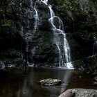 Spruce Flat Falls by DHParsons
