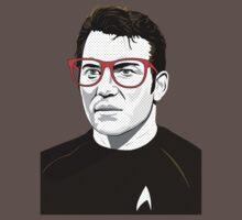 Pop Art Spock Star Trek  T-Shirt