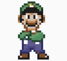 16-bit Pixel Luigi by csyz ★ $1.49 stickers