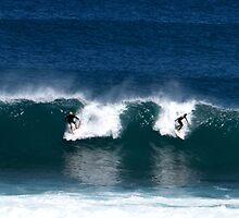 Surfing W.A. Margaret River Region  by andypatt