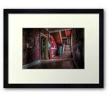 They call it Chateau Rouge...wonder why...... Framed Print