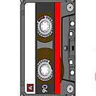 Cassette Tape iPhone Cover by jereeebear