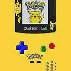 Pikachu Yellow Gameboy Edition by Earlofjosh
