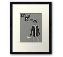 Breaking Bad/Paperman T-Shirt Framed Print