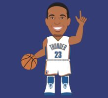 NBAToon of Kevin Martin, player of Oklahoma City Thunder by D4RK0