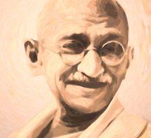 Ghandi Motivation by Adam Asar