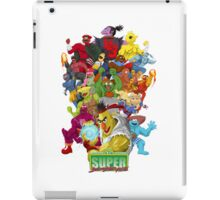 Super Sesame Street Fighter iPad Case/Skin