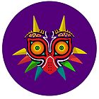 Majora&#x27;s Mask Vector Art by Aaron Pacey