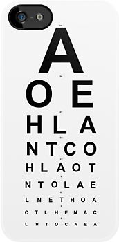 Snellen Chart by Koolkati3