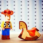 Rocking Horse Cowboy by iElkie