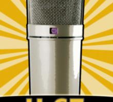 Classic - Neumann U67 Vintage Microphone Sticker