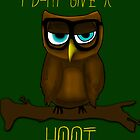 HOOT by Derek Donovan