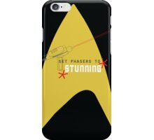 Set phasers to stunning. iPhone Case/Skin