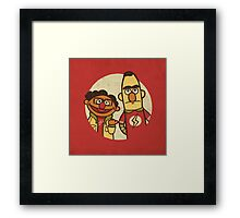The Puppet Paradox Framed Print