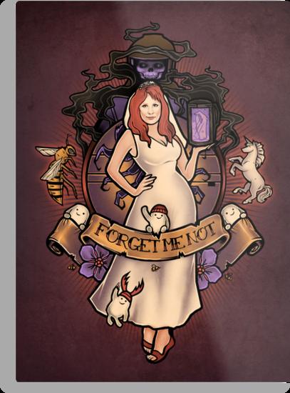 Forget Me Not - Print by MeganLara