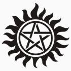 Supernatural Symbol Shirt #3 by HarmonyByDesign
