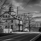 The Zoar Hotel in Black and White by Andy Donaldson