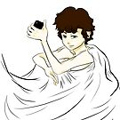 Sherlock in a Sheet by cylensia