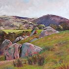 Trawool Rocks by Lynda Robinson