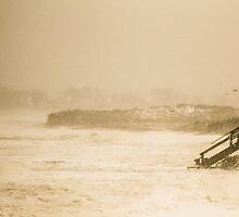 A Stormy Sea by Elizabeth Thomas