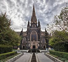 St Patrick's Cathedral • Melbourne by William Bullimore