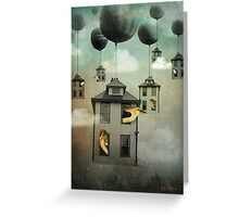 Birdhouse 2 Greeting Card