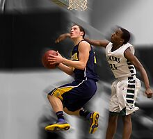 Jordan Dasuqi | 2012-13 | Clarkston Basketball Poster by alexela