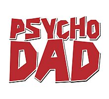 The Walking Dead: Psycho Dad Photographic Print