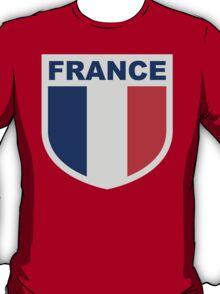 France National Flag Blazon T-Shirt
