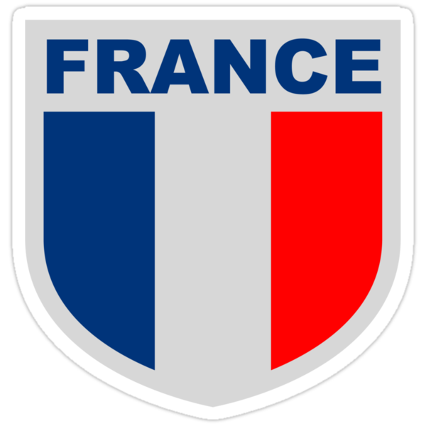 France National Flag Blazon by Style-O-Mat