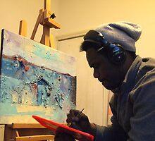 Man Still At Work by Eddy Aigbe