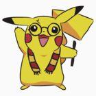 Harry Pikachu by Chloe Grech