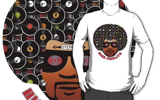 High Fidelity T-Shirt by retrorebirth