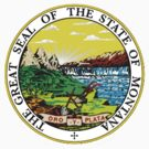 Montana State Seal by GreatSeal