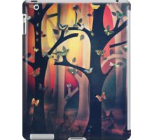 The Woods at Sunset iPad Case/Skin