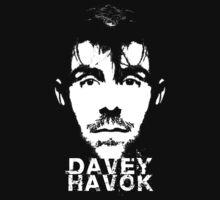 Davey Havok - face tee by Chrome Clothing