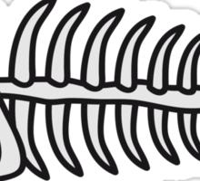 Death Fish Skeleton Sticker
