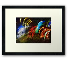 The Dragons of Desire Framed Print