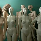 Mannequins, when they're at home #2 by Bruce Walker